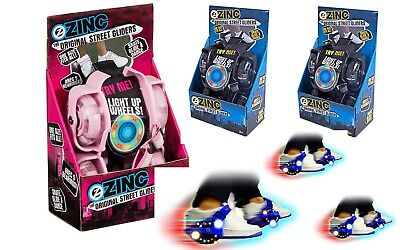 New Light-Up Zinc Street Gliders - Pink & Blue FUN UNLIMITED (RRP £30)