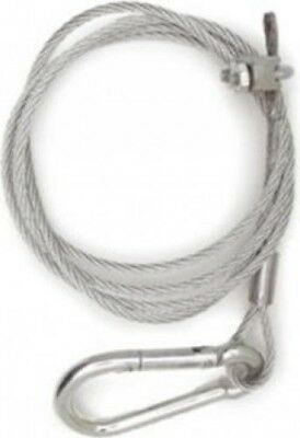 W4 Breakaway Cable for Caravan & Trailer Safety Unhitching | Wire Rope Grip