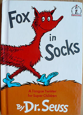 Dr. Seuss Fox in Socks A Tongue Twister For Super Children I Can Read By Myself