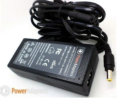 ELO ET1715L Monitor 12v mains power supply adaptor cable including lead