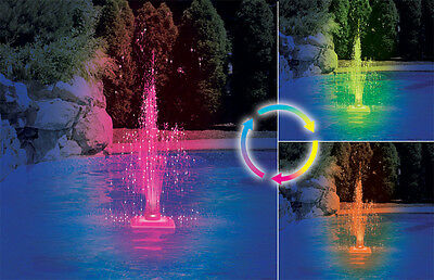 Swimline Swimming Pool Color Changing LED Fountain