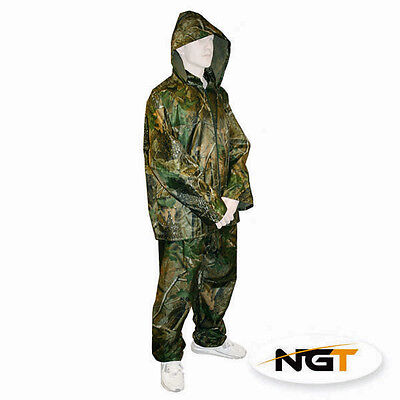 NGT Waterproof Jacket & Trouser Set