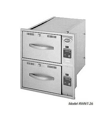 Wells RWNT26E6-120 Narrow Food Warmer Drawer w Thermometer 120V NEW in CRATE