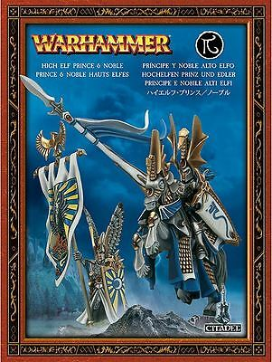 High Elf Prince And Noble Warhammer Age of Sigmar Games Workshop