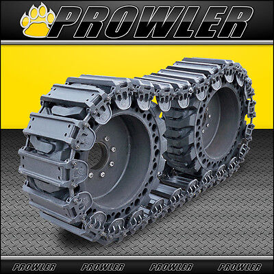 """12"""" Prowler Fusion Steel OTT Tracks for Skid Steers - Fits 12x16.5 Tires"""