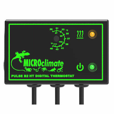 Microclimate B2 HT Pulse High Temp Proportional Thermostat reptile snake lizard