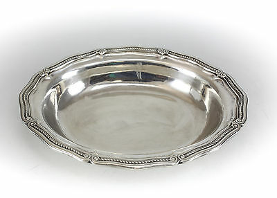 Tiffany & Co. Sterling Silver Vegetable Dish, Gadroon Rim. c.1920