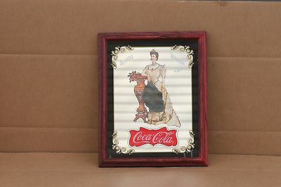 VINTAGE 1994 Coca-Cola LILLIAN NORDICA MIRROR RESTAURANT BAR SIGN