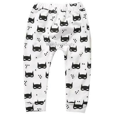 Toddler Boys Harem Pants. Batman Print. Sizes 1,2,3 & 4 AU SELLER, FAST POST