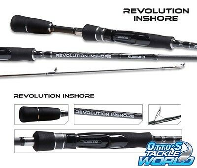 Shimano Revolution Inshore 662 Barra Spin Rod BRAND NEW at Otto's Tackle World