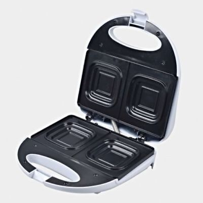 New Deep Dish Sandwich Maker Press Toaster/Toast square loaf bread 2 Slice