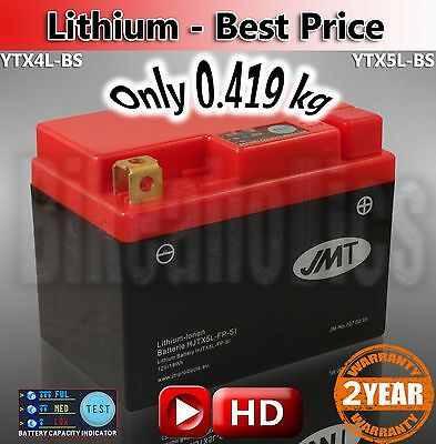 KTM EXC-F 350 ie4T 2012-2015 LITHIUM Battery JMT is the official supplier of KTM