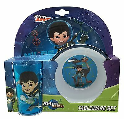 Miles From Tomorrowland | Merc 3pc Melamine Tumbler, Bowl & Plate Mealtime Set