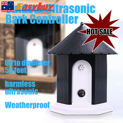 Pet Dog Ultrasonic Outdoor Stop Bark Anti Barking Control System Device Nuisance