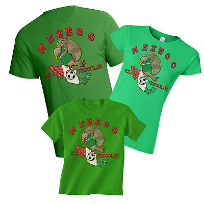 Mexico World Cup 2018 Football Mascot T-Shirt Choice Of MENS LADIES KIDS
