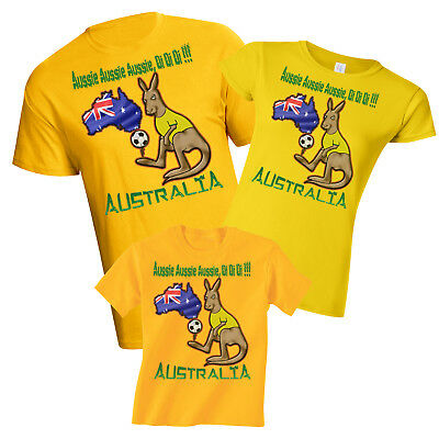 Australia Womens World Cup 2019 Football Mascot T-Shirt Choice MENS LADIES KIDS