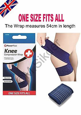 Knee Compression Wrap Brace Support Gym Strap Weight Sprain Wrap Tennis Sports