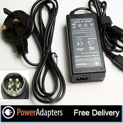 Icy Box IB-3640SU3 external 4 bay 4 pin 12v power supply adapter with cable
