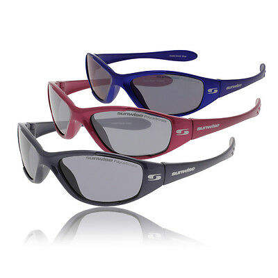Sunwise Panoramic View Boost Petite Unisex UVA/UVB Protection Sunglasses White