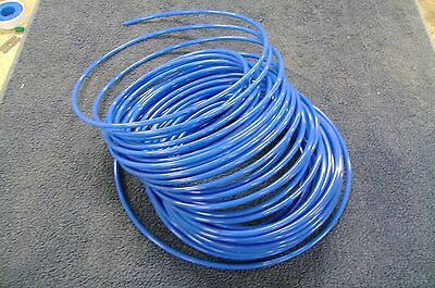 "1/8"" Pneumatic Tubing Push to Connect Fittings Blue 10 FT PE021-B"