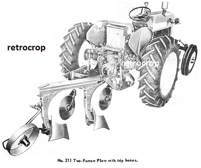 IH International Harvester 211 311 2 Point Fast Hitch Plow Owner's Manual 560