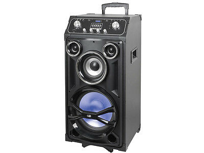 Trevi  Multi Function MP3 Karaoke Speaker System with FM Radio Bluetooth Aux in