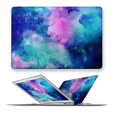 Galaxy Matte Hard Front Case Cover For Apple Mac Macbook Air Pro 11 12 13 15