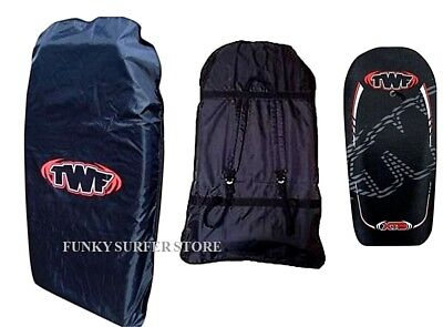 "Twf 42"" Double Bodyboard Carry Bag Boogie Board Beach Back Pack Padded Straps"
