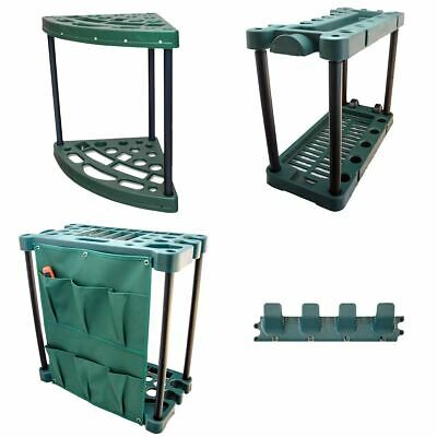 Garden Tool Trolley Rack Organiser Gardening Storage Holder Unit Caddy For Shed