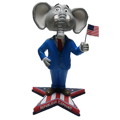 Republican Elephant Bobblehead - 2016 Presidential Election Limited Edition