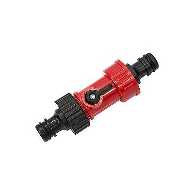HOSE CONNECTOR With TWO WAY ADAPTOR Gardening Washing Cleaning Hose Watering