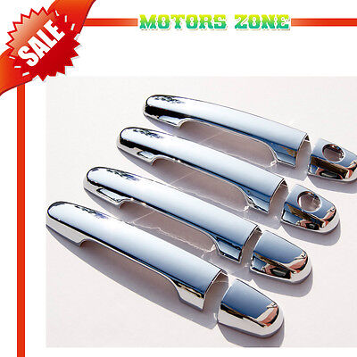 For TOYOTA  CAMRY COROLLA HIGHLANDER RAV4 SCION xA xB xD CHROME HANDLE COVER