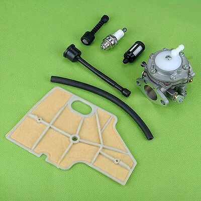 Carburetor Fuel Oil Line Air Filter Tune up Kit Fit Stihl Chainsaw 070 090 Carb