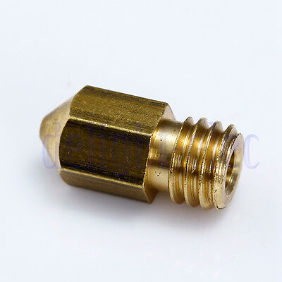 0.5mm Extruder Nozzle Print Head 13mm*6mm Size For Makerbot Mk8 3D Printer DH