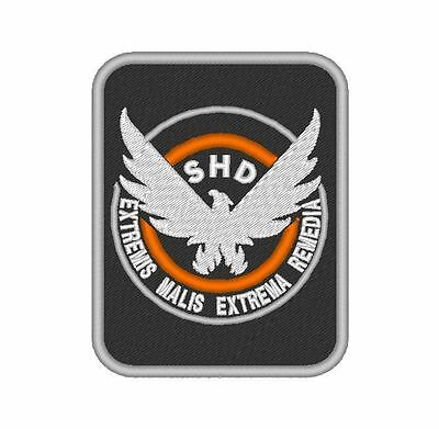 Tv - Airsoft - Movie - Game - Cosplay Embroidered Patch Shd The Division V3