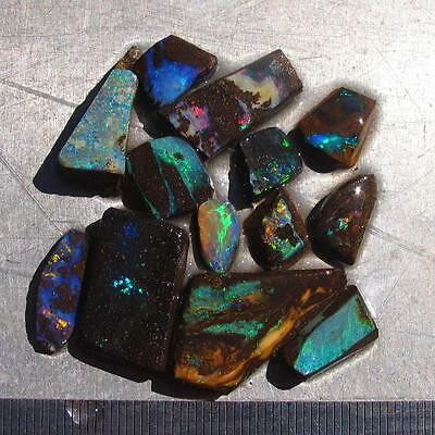 Rough Boulder Opal 69.4 ct 100% Australian natural rough opal from QLD N1529