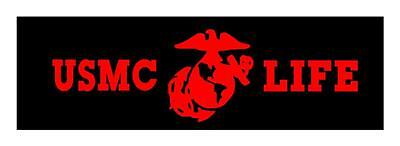 Usmc Life 3X9 Marine Corps Veteran Military Vinyl Car Window Decal Sticker