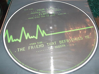 "Pentalk And Leroy Lewis "" Your Life / Flatline "" B/w Nugsta "" The Friend That.."""