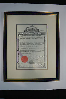 Dow Corning Corporation 1958 Patent Certificate Paul Oppliger