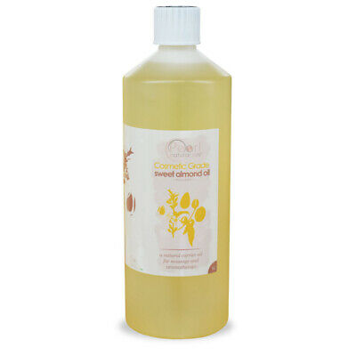 100% Pure Cosmetic Grade, Sweet Almond Oil - Cold Pressed, Carrier, Massage Oil