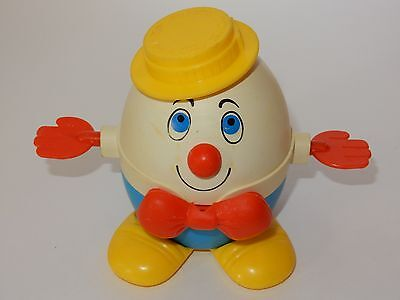 Fisher Price 1970's Humpty Dumpty #736 Pull Toy
