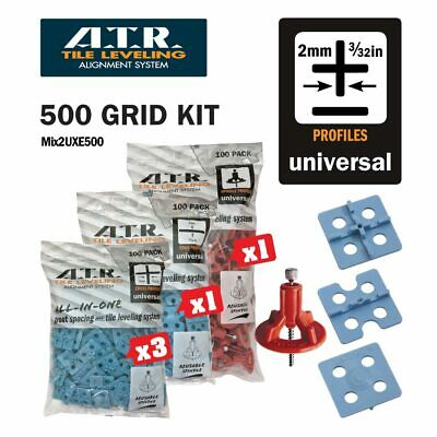 ATR TILE LEVELING SYSTEM 2mm FLOOR KIT- Tile Level System