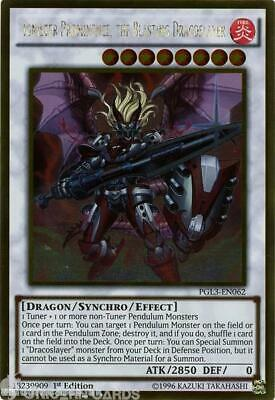 PGL3-EN062 Ignister Prominence, the Blasting Dracoslayer Gold Rare 1st edition M