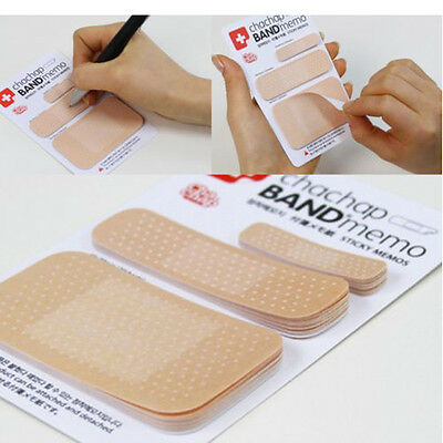 1pad Cute Bandage Sticker Notes Bookmark Point it Marker Memo Flags Sticky Notes