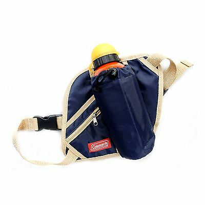 Coleman Waist Bag with Pockets for Small Water Bottle, Camping & Hiking