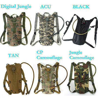 3L Hydration System Water Drinks Bladder Bag Backpack Cycling Camping Hiking mie