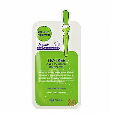 Mediheal Teatree Essential Mask (2 / 10 pcs) Upgraded Moisturizing Care Solution