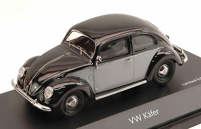Volkswagen VW Kafer 1951 Grey / Black 1:43 Model 3877 SCHUCO