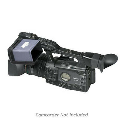 Hoodman 4-inch Widescreen LCD Hood for Canon XF Series Camcorder - HD450