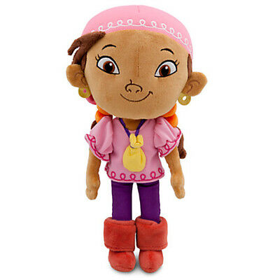 Authentic Disney Store Izzy Plush Figure Jake and the Never Land Pirates 11''